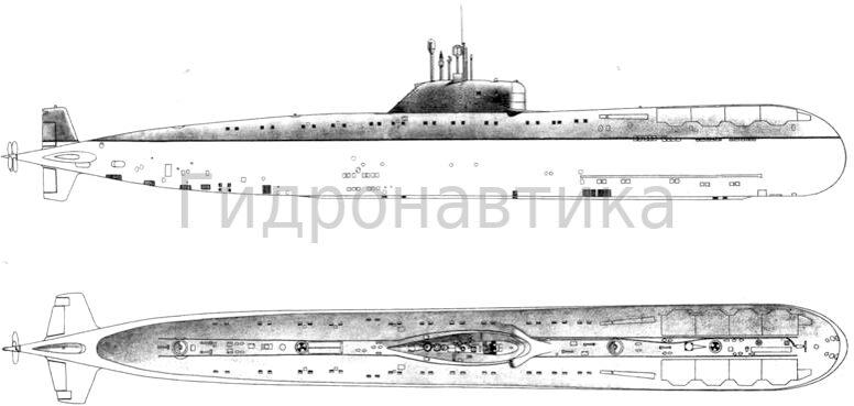 подводные лодки проекта 670м чайка