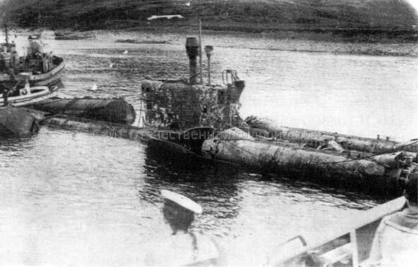 гибель советских и российских подводных лодок