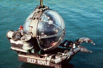 10 США DOE Deep Rover 1001